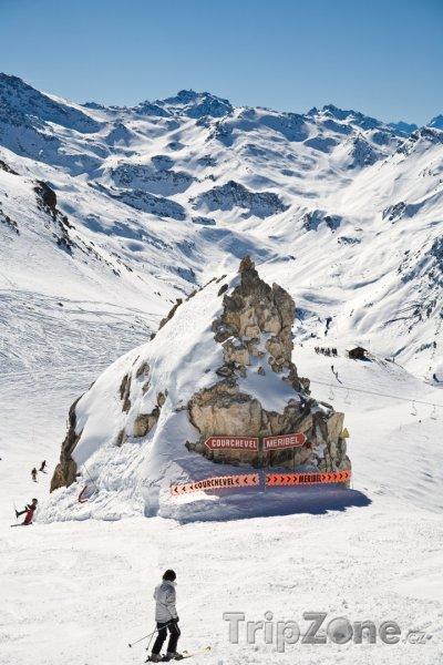 Fotka, Foto Sjezdovka ve Třech údolích (Tři údolí, Francie)