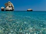 Skaliska na pobřeží Pafosu