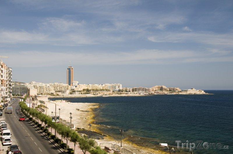 Fotka, Foto Sliema, pobřeží (Malta)