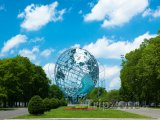 Socha Unisphere ve Flushing Meadows – Corona Park