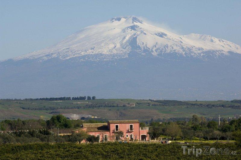 Fotka, Foto Sopka Etna (Sicílie, Itálie)