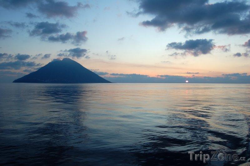 Fotka, Foto Sopka Stromboli (Itálie)