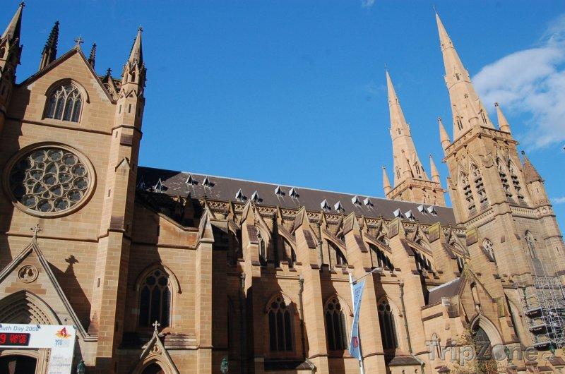 Fotka, Foto St Mary's Cathedral (Sydney, Austrálie)
