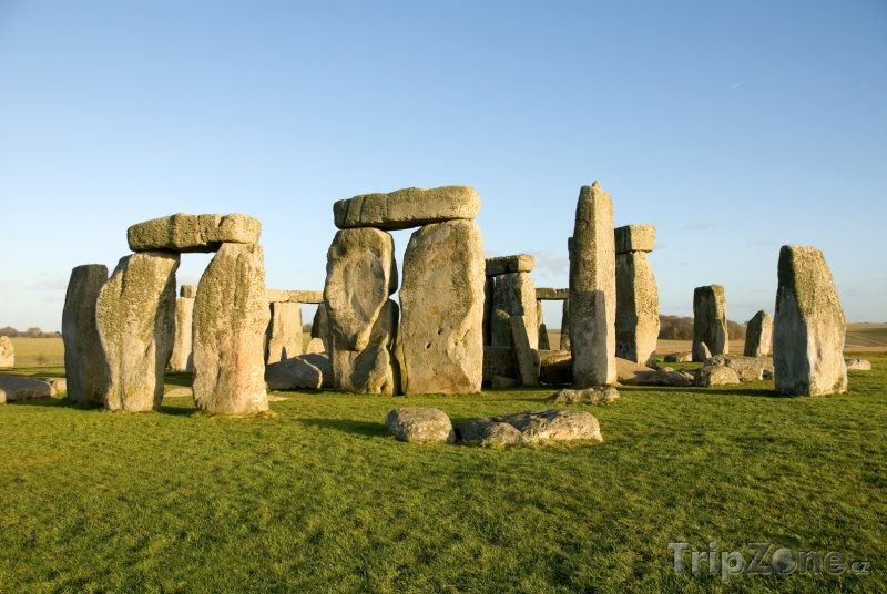 Fotka, Foto Stonehenge (Velká Británie)