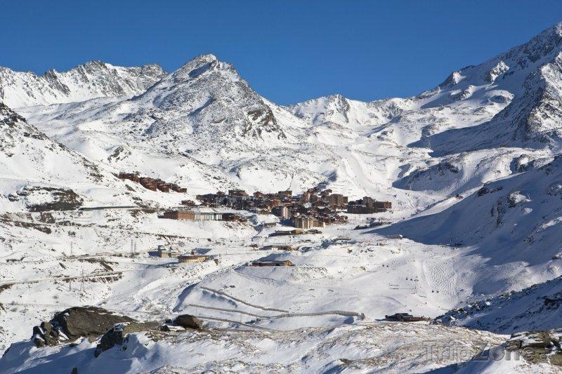 Fotka, Foto Středisko Val Thorens (Tři údolí, Francie)