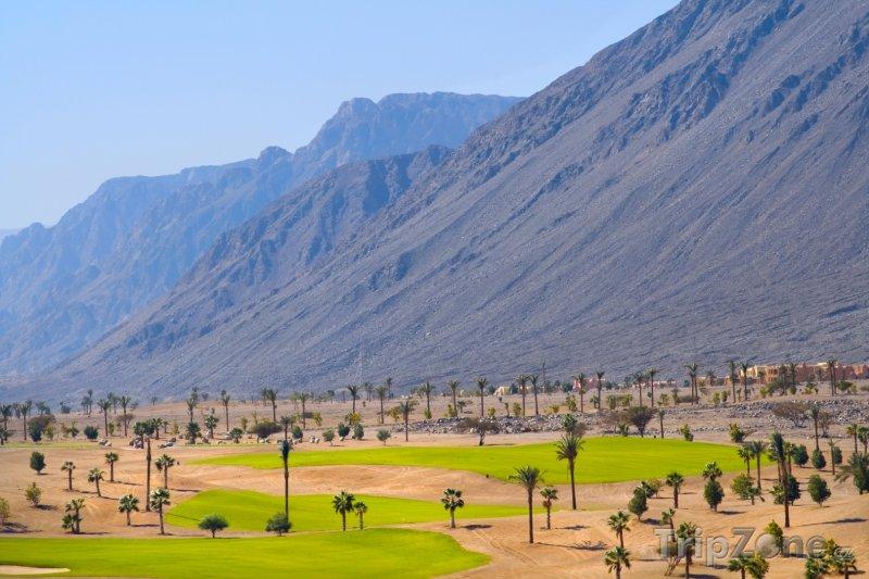 Fotka, Foto Taba, golfové hřiště (Sinaj, Egypt)