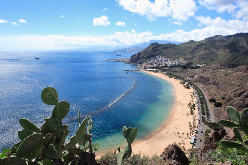 Fotka, Foto Tenerife, pláž (Kanárské ostrovy, Španělsko)