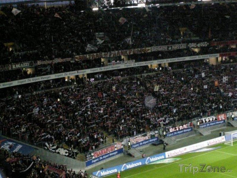 Fotka, Foto Tribuny stadiónu (Frankfurt, Německo)