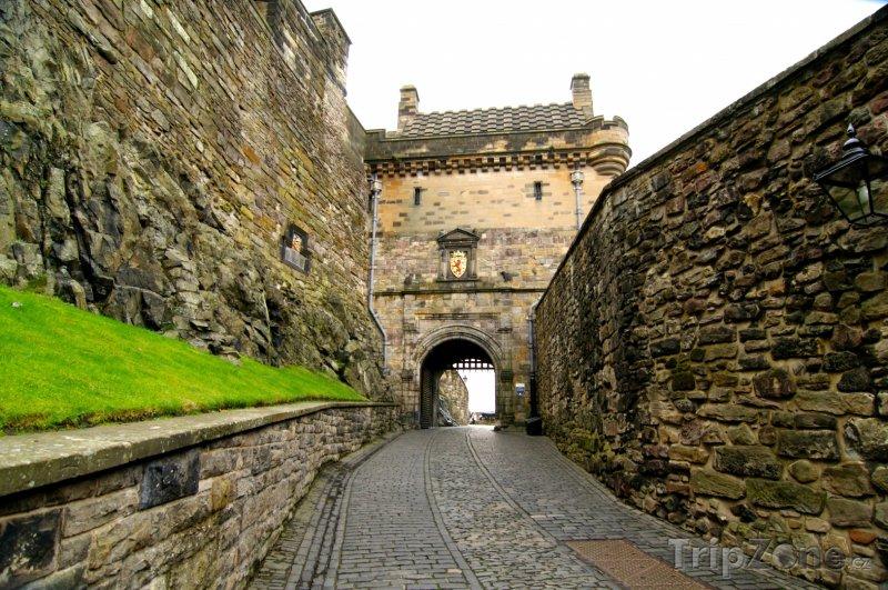 Fotka, Foto Ulička v Edinburghu (Edinburgh, Velká Británie)