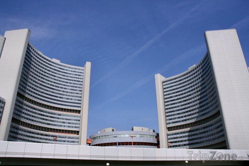 Fotka, Foto UNO City, budovy OSN (Vídeň, Rakousko)