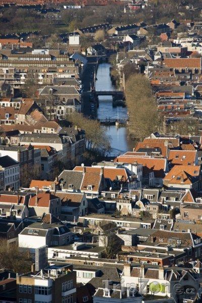 Fotka, Foto Utrecht, pohled na město (Nizozemsko)