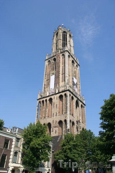 Fotka, Foto Utrecht, věž katedrály sv. Martina (Nizozemsko)