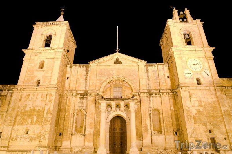 Fotka, Foto Valletta, katedrála sv. Jana (Malta)