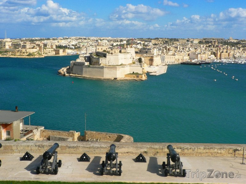 Fotka, Foto Valletta, panoráma přístavu (Malta)