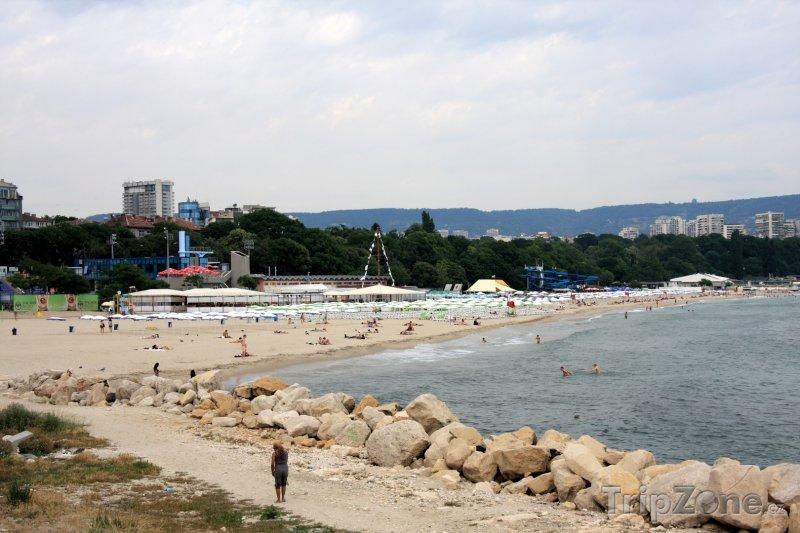 Fotka, Foto Varna, pláž (Severní pobřeží, Bulharsko)