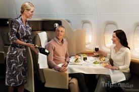 VIP služby na palubě letadla