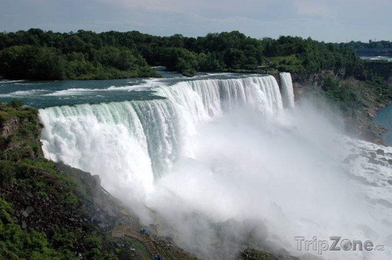 Fotka, Foto Vodopády Niagara (USA)