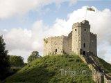 Wales, hrad v Cardiffu
