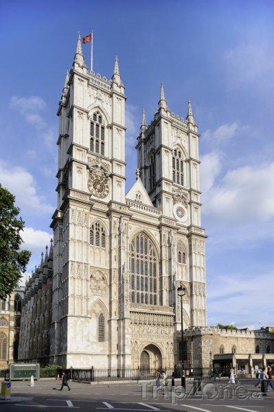 Fotka, Foto Westminsterské opatství v Londýně (Londýn, Velká Británie)