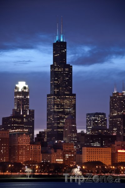 Fotka, Foto Willis Tower (dříve Sears Tower) (Chicago, USA)