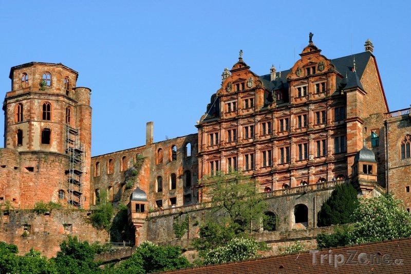 Fotka, Foto Zámek v Heidelbergu (Bádensko-Württembersko, Německo)