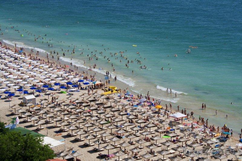Fotka, Foto Zlaté Písky, pláž (Severní pobřeží, Bulharsko)
