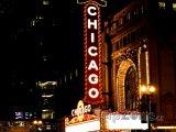 Známý neon na Balaban and Katz Chicago Theatre