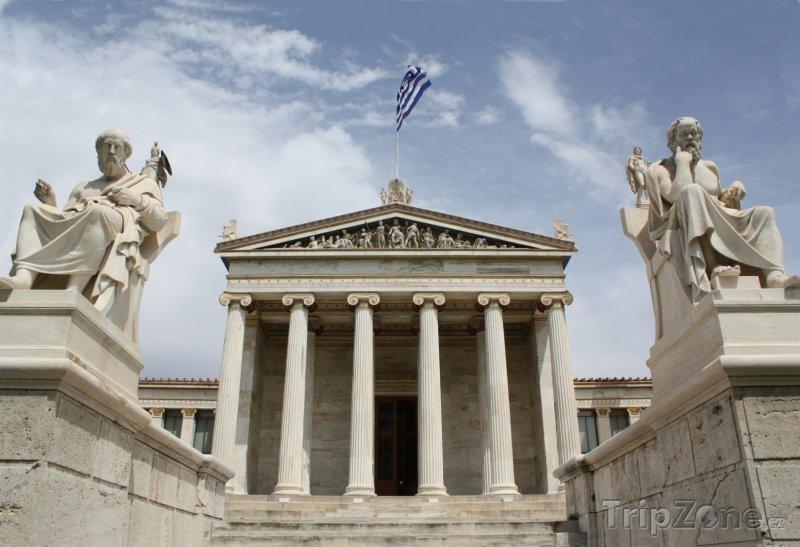 Fotka, Foto Akademie umění v Athénách (Attika, Řecko)