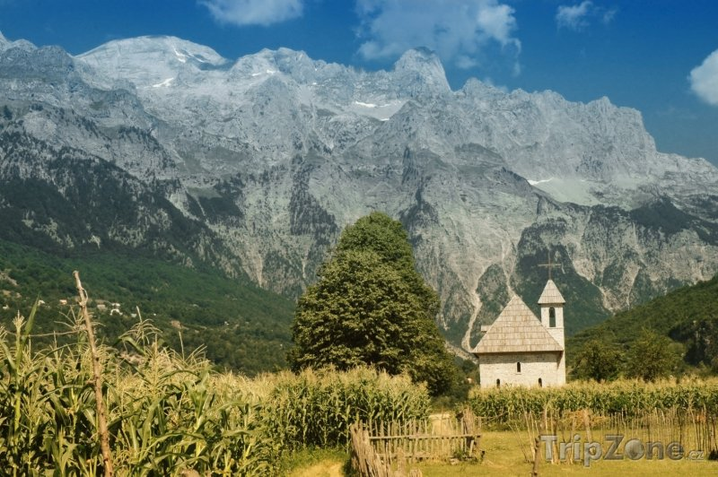 Fotka, Foto Albánie - Osada Thethi (Albánie)