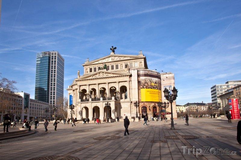 Fotka, Foto Alte Oper - Frankfurt (Frankfurt, Německo)