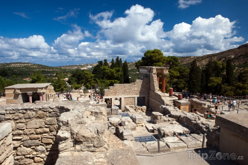 Fotka, Foto Archeologická lokalita Knóssos (Kréta, Řecko)
