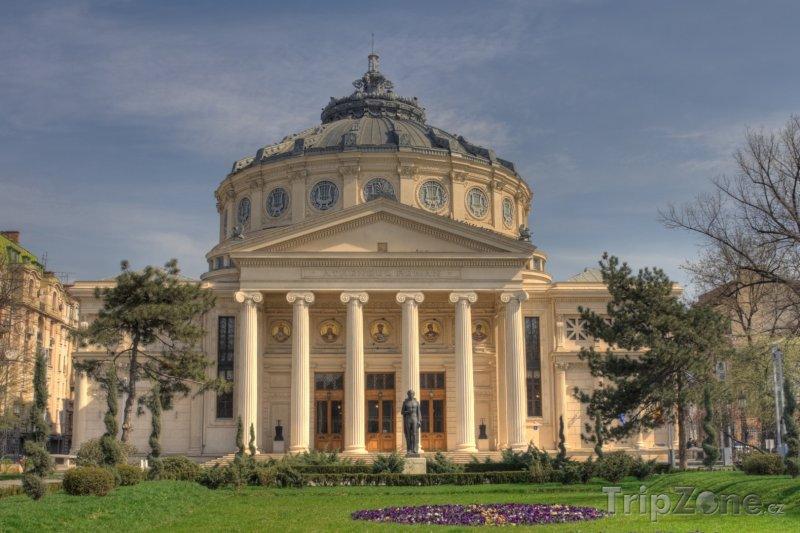 Fotka, Foto Atheneum v Bukurešti (Rumunsko)
