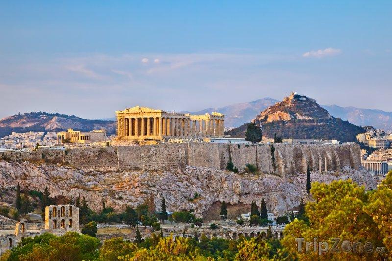 Fotka, Foto Athény - Akropole (Attika, Řecko)