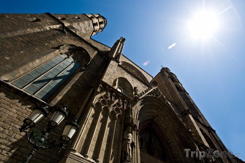 Fotka, Foto Barcelona - Santa Maria del Mar (Barcelona, Španělsko)