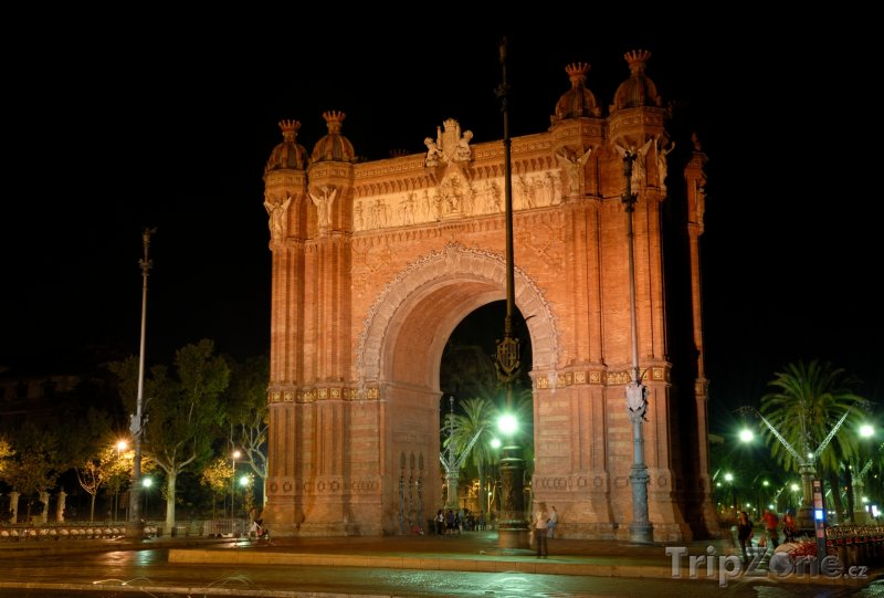 Fotka, Foto Barcelona - vítězný oblouk (Barcelona, Španělsko)