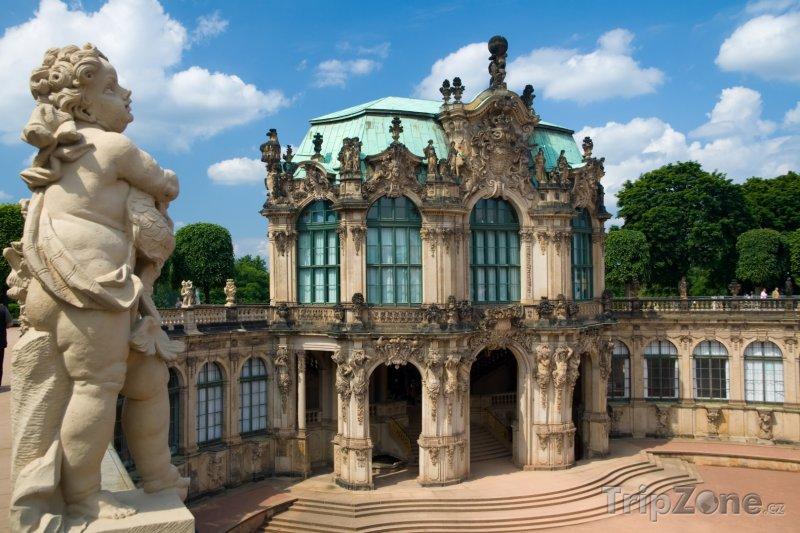 Fotka, Foto Barokní komplex Zwinger - Drážďany (Německo)