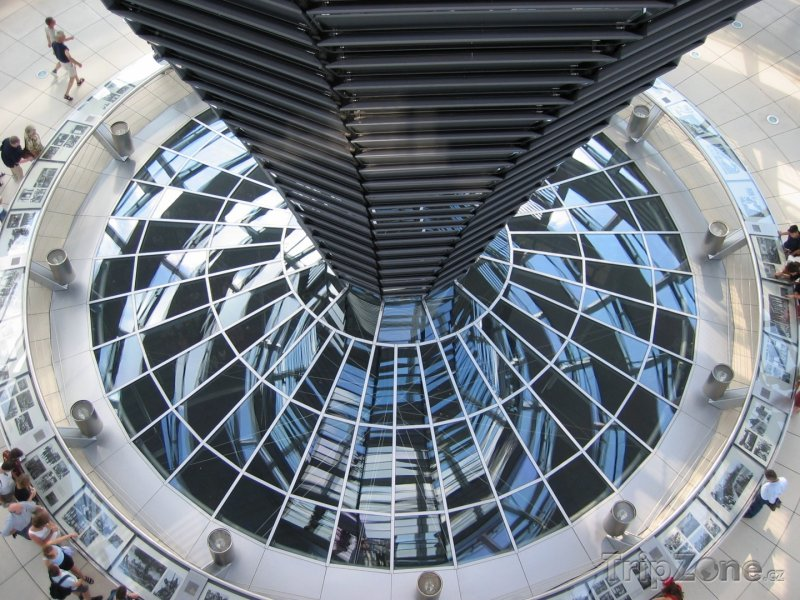 Fotka, Foto Berlín - Reichstag zevnitř (Německo)