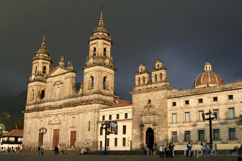 Fotka, Foto Bogota, katedrála (Kolumbie)
