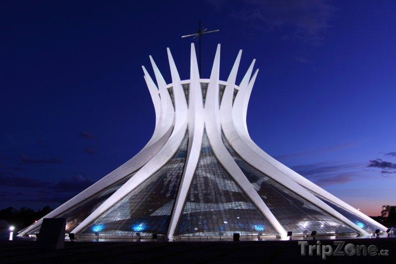 Fotka, Foto Brasília, katedrála (Brazílie)