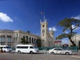 Bridgetown - budova parlamentu, oblast Saint Michael