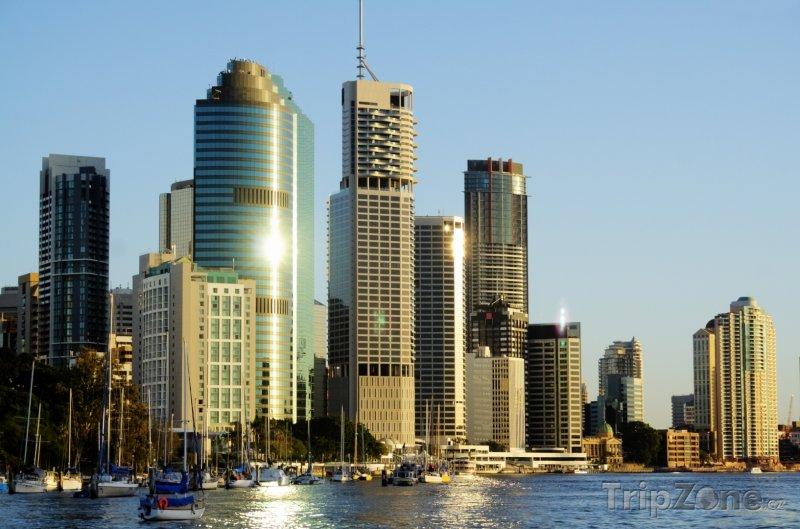 Fotka, Foto Brisbane, panoráma města (Austrálie)