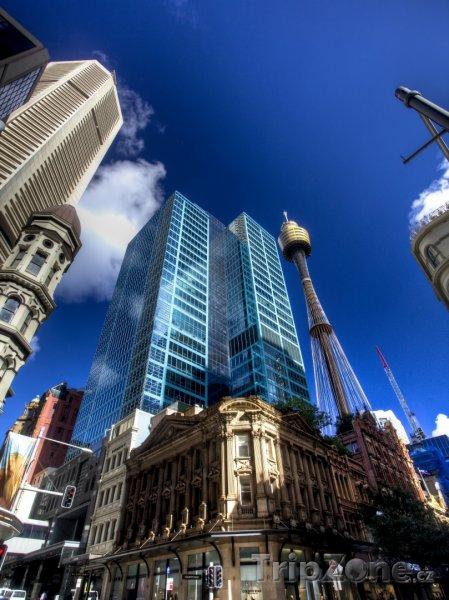Fotka, Foto Budovy v centru města (Sydney, Austrálie)