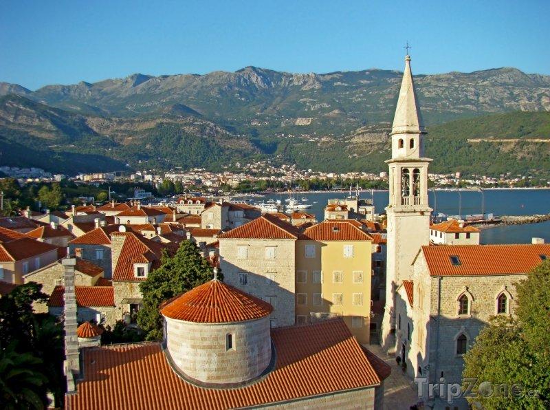 Fotka, Foto Budva, panoráma (Černá Hora)