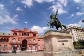 Buenos Aires, vládní budova Casa Rosada