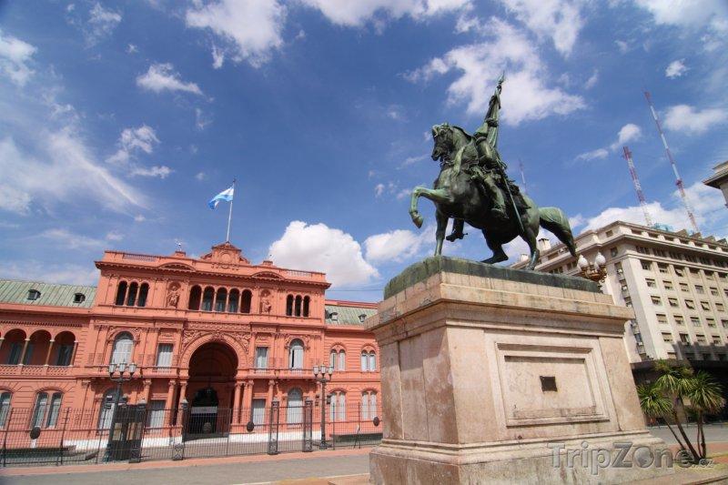 Fotka, Foto Buenos Aires, vládní budova Casa Rosada (Argentina)