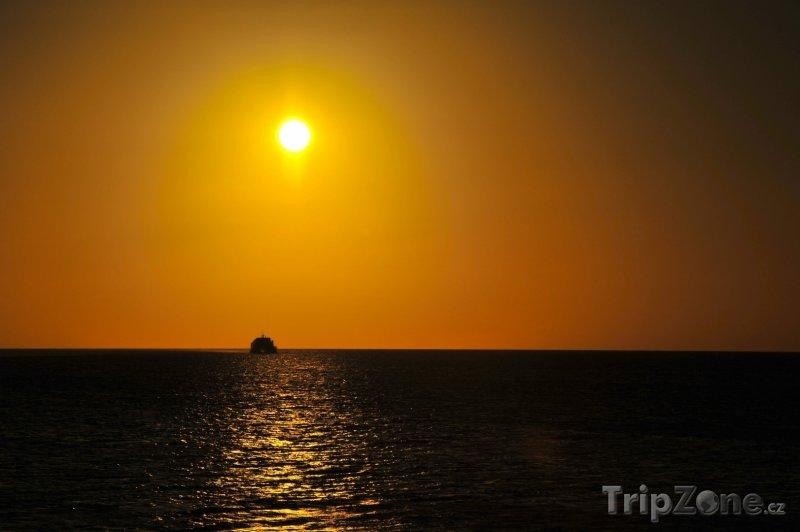Fotka, Foto Central Eleuthera, západ slunce (Bahamy)