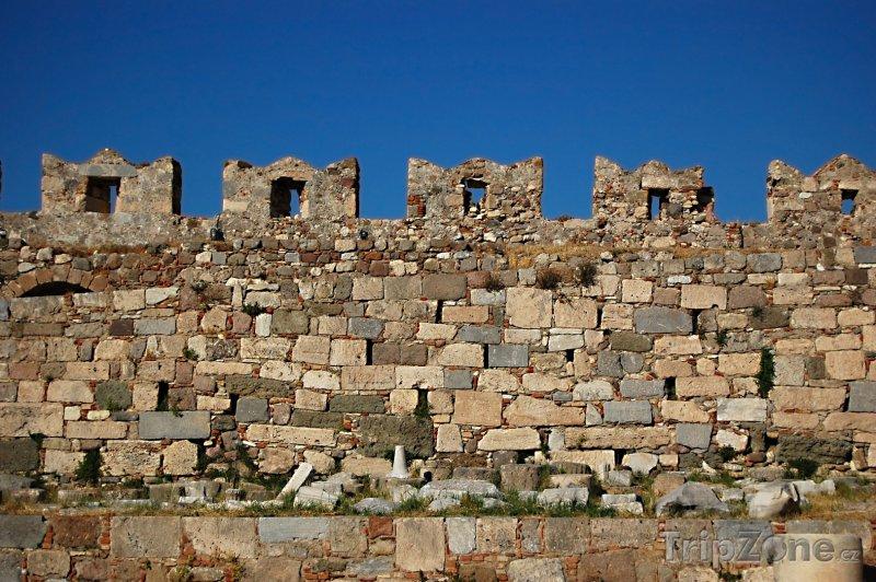 Fotka, Foto Cimbuří pevnosti na ostrově Kos (Kos, Řecko)