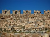 Cimbuří pevnosti na ostrově Kos