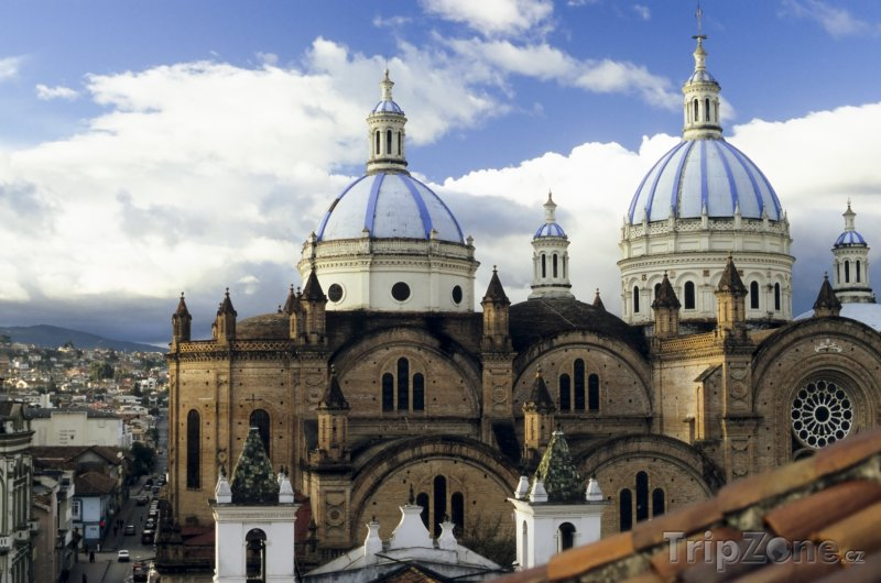 Fotka, Foto Cuenca, Nová katedrála (Ekvádor)