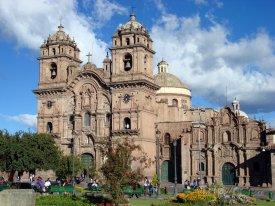 Cusco, katedrála